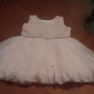 Childrens Place blush pink girls dresd